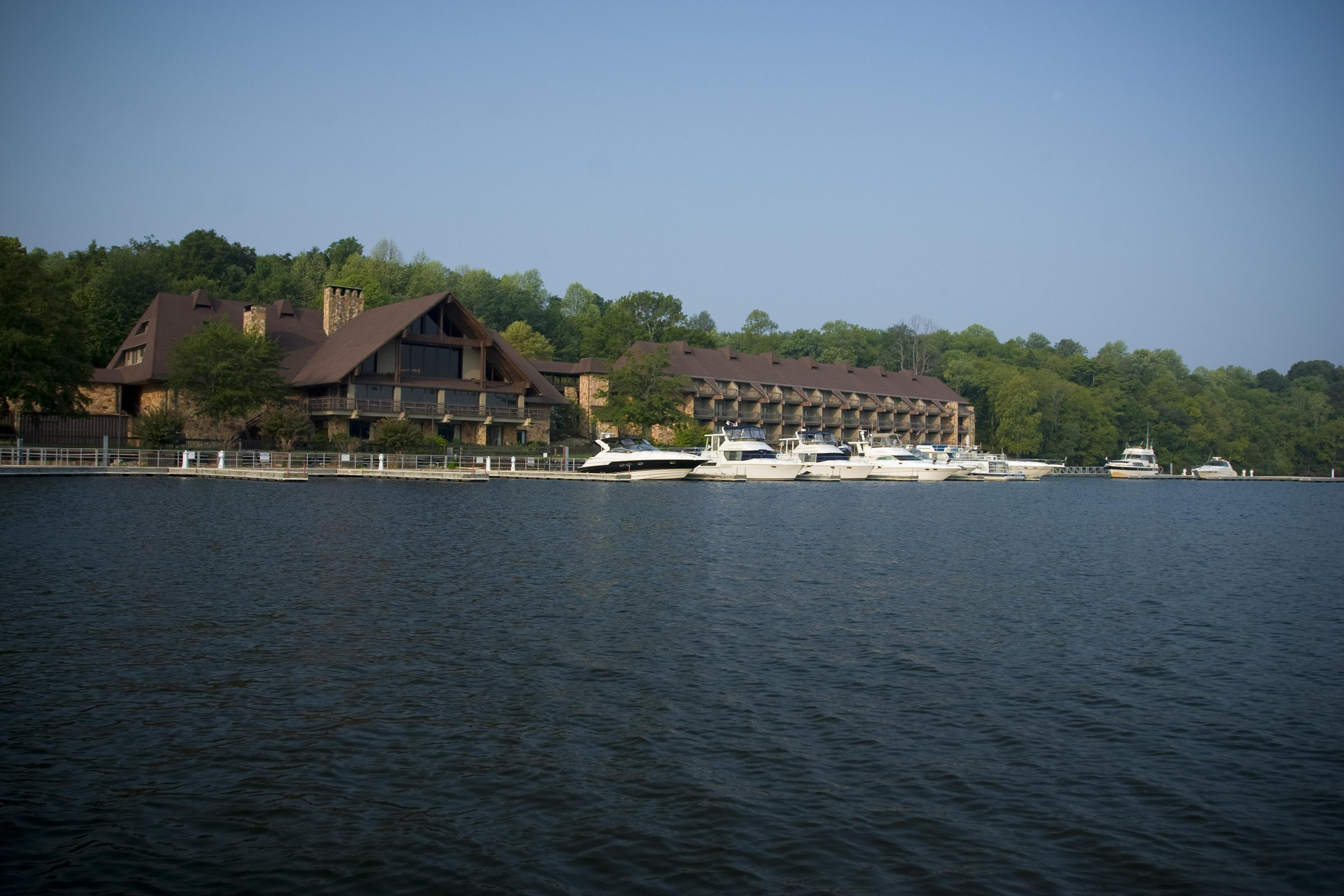 Joe Wheeler State Park Lodge From Water