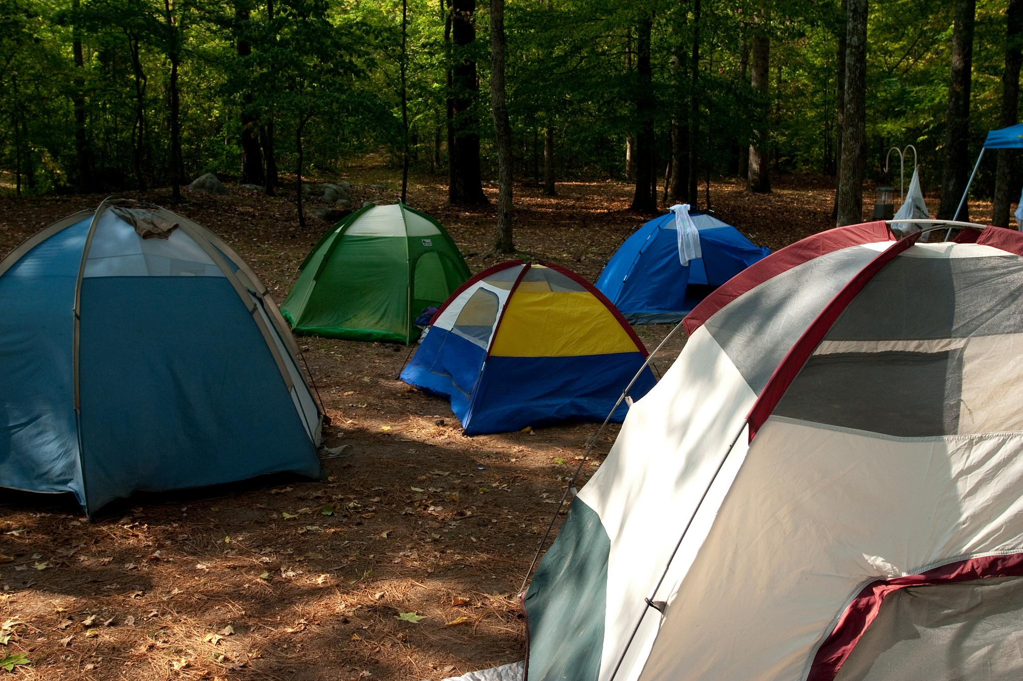 Rickwood State Park Tent Camping