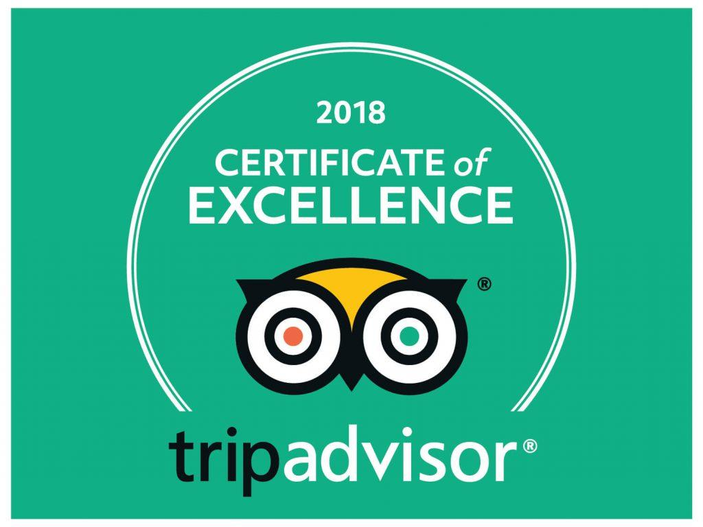 Alabama State Parks Tripadvisor Certificate of Excellence